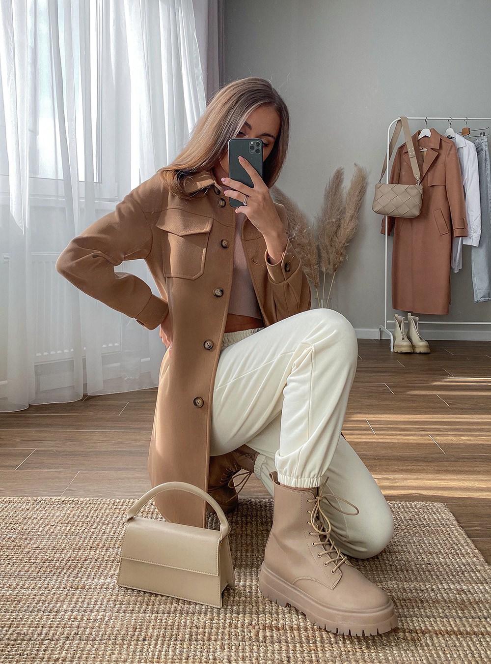 Пальто-рубашка Шейли 2021